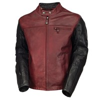 Roland Sands Ronin jacket in oxblood