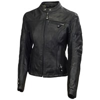 Roland Sands ladies Maven jacket in black