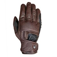 Roland Sands Mission gloves in brown