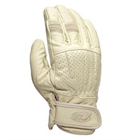 Roland Sands Barfly gloves in cream
