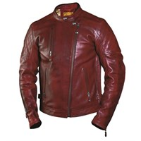 Roland Sands Clash jacket in oxblood