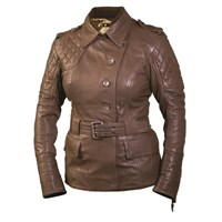 Roland Sands Ladies Brown Oxford Jacket