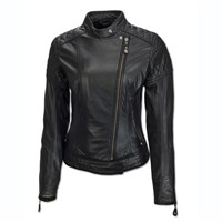 Roland Sands ladies Riot jacket in black