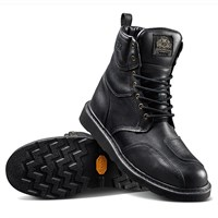 Roland Sands Mojave boots in black