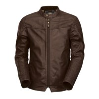 Roland Sands Walker jacket in tobacco