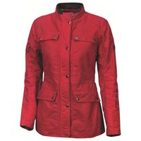 Roland Sands ladies Ginger jacket in red