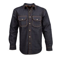 Resurgence Denim shirt in raw