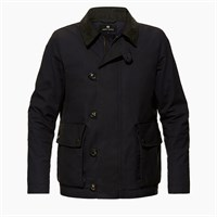 Ashley Watson Eversholt jacket in navy