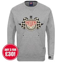 Retro Legends sweatshirt in grey Chronograph Heuer
