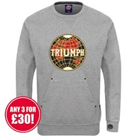 Retro Legends sweatshirt in grey Triumph