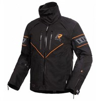 Rukka Nivala jacket in black / orange