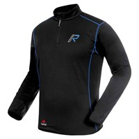 Rukka Kim fleece shirt in black