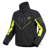 Rukka Nivala jacket in black / yellow