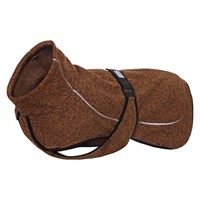 Rukka Comfy Technical dog knit fleece in brown