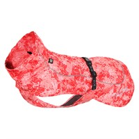 Rukka Drizzle dog rain jacket in red
