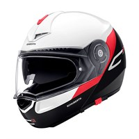 Schuberth C3 Pro helmet in gravity red