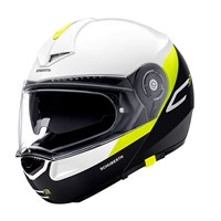 Schuberth C3 Pro helmet in gravity yellow