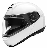 Schuberth C4 Basic helmet in gloss white