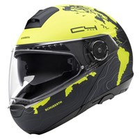 Schuberth C4 Pro Magnitudo helmet in yellow