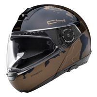 Schuberth C4 Pro Magnitudo helmet in brown