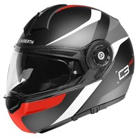 Schuberth C3 Pro Sestante helmet in red