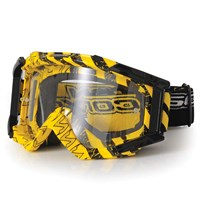 Scorpion Yellow/Black Goggles