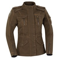 Segura Lady Jewel Crystal jacket in khaki