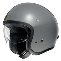 Shoei JO helmet in grey