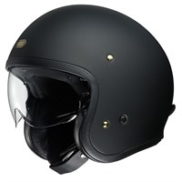 Shoei JO helmet in matt black