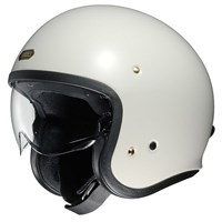 Shoei JO helmet in white