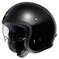 Shoei JO helmet in black