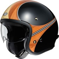 Shoei JO Waimea TC-10 helmet in black / orange