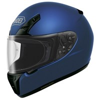 Shoei RYD helmet in metallic blue