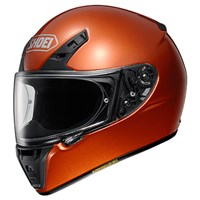 Shoei RYD helmet in tangerine