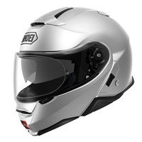 Shoei Neotec 2 helmet in light silver