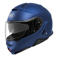 Shoei Neotec 2 helmet in metallic blue
