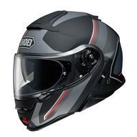 Shoei Neotec 2 Excursion TC5 helmet in silver / black