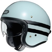Shoei JO Sequel TC-10 helmet in light blue