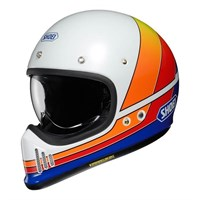 Shoei Ex-Zero Equation TC2 helmet in white / multi colour