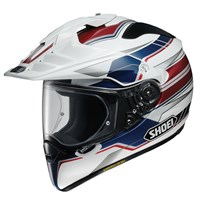 Shoei Hornet ADV Navigate TC2 helmet in white