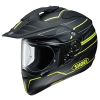 Shoei Hornet ADV Navigate TC3 helmet in black