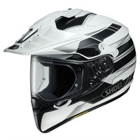 Shoei Hornet ADV Navigate TC6 helmet in white