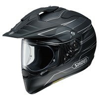 Shoei Hornet ADV Navigate TC5 helmet in black