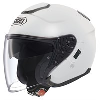 Shoei J-Cruise helmet in gloss white