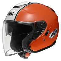 Shoei J-Cruise Corso TC8 helmet in orange