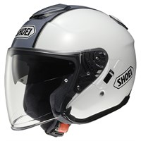 Shoei J-Cruise Corso TC6 helmet in white