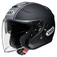Shoei J-Cruise Corso TC10 helmet in black / grey