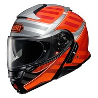 Shoei Neotec 2 Splicer TC8 helmet in orange