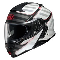 Shoei Neotec 2 Splicer TC6 helmet in white
