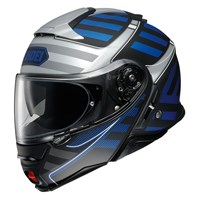 Shoei Neotec 2 Splicer TC2 helmet in blue